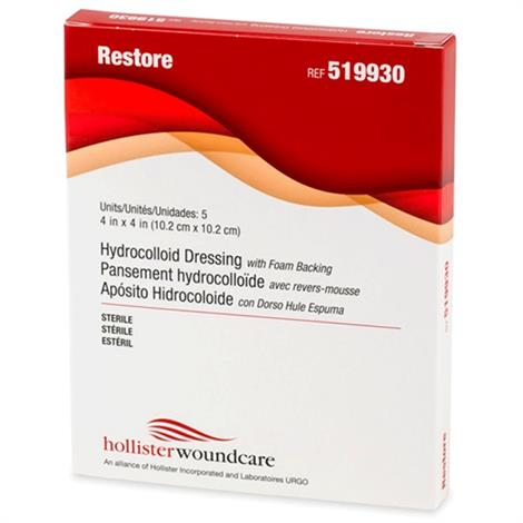 Buy Hollister Restore Hydrocolloid Dressing with Foam Backing