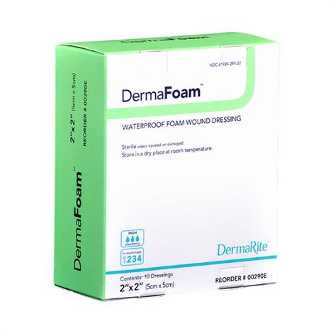 Buy DermaRite DermaFoam Non-Adhesive Foam Dressing