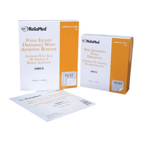 Buy ReliaMed Foam Dressing with Film Backing