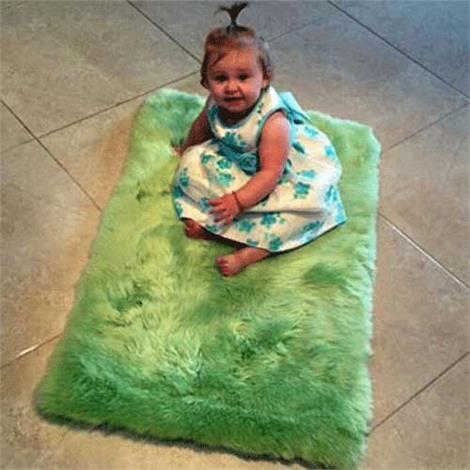 Baby Irish Sheepskin Rug