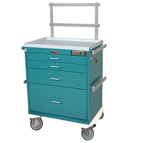 Harloff Six Drawer Monitor Cart
