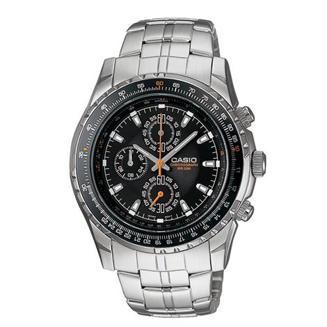 Buy Casio Mens 3 Hand Analog Chronograph Watch