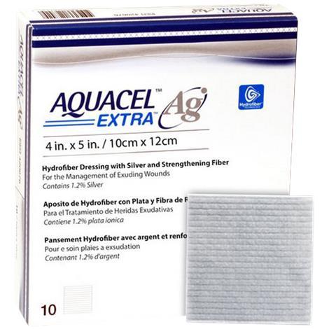 ConvaTec Aquacel Ag Extra Hydrofiber Dressing
