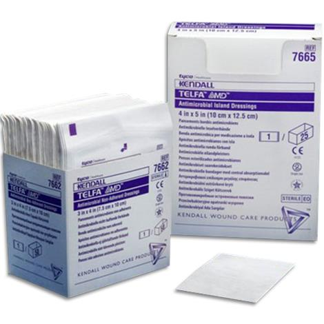 Covidien Telfa AMD Antimicrobial Non Adherent Pad Dressing