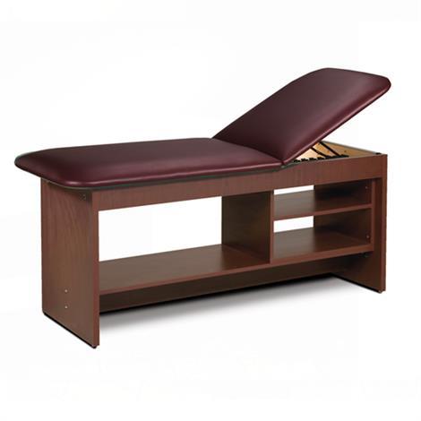 Clinton ETA Style Line Treatment Table with Shelving