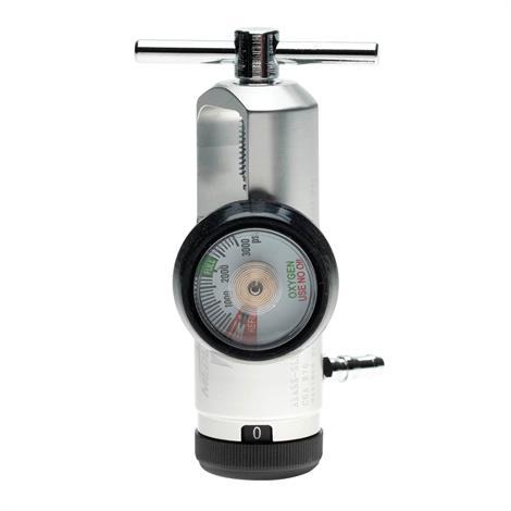 Medline Brass Mini Oxygen Regulator