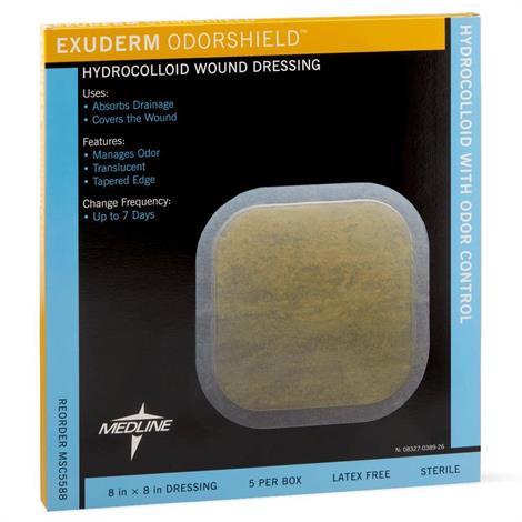 Buy Medline Exuderm Odorshield Hydrocolloid Wound Dressing