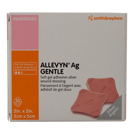 Allevyn Ag Gentle Adhesive Silver Dressing