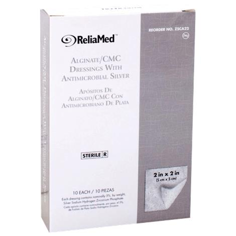Cardinal Health Silver Alginate and CMC Wound Dressing