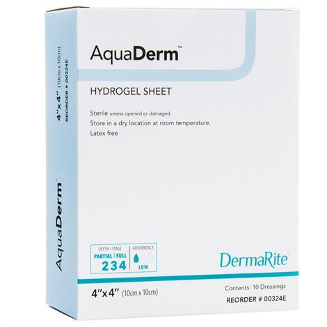 Buy DermaRite AquaDerm Hydrogel Sheet Wound Dressing