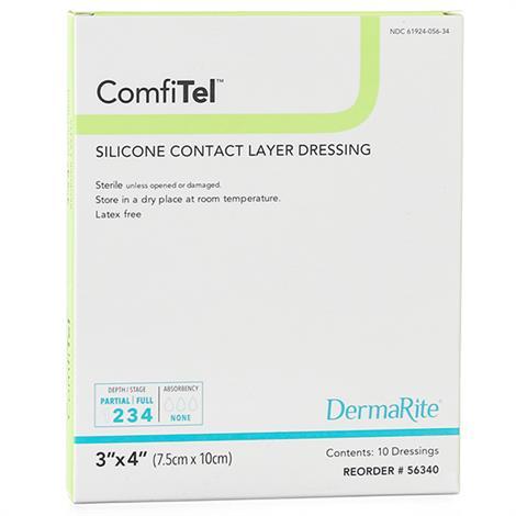 Buy DermaRite ComfiTel Silicone Wound Dressing