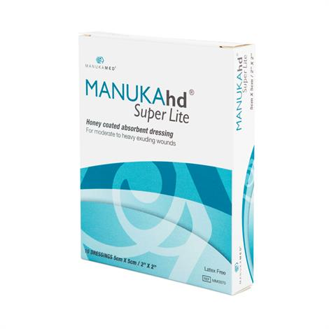 ManukaHD Super Lite Honey Coated Absorbent Dressing