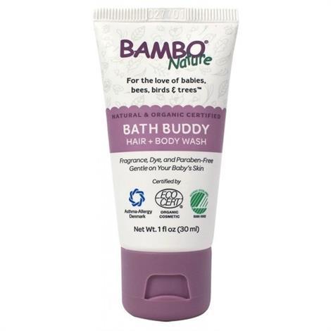 Bambo Nature Bath Buddy Hair And Body Wash