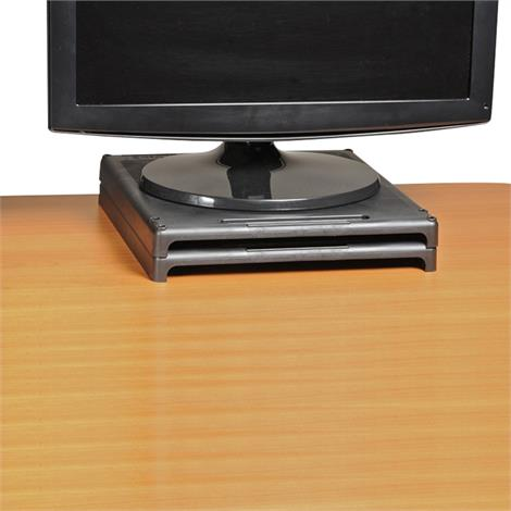 VuRyser High-Impact Plastic Stackable Monitor Riser