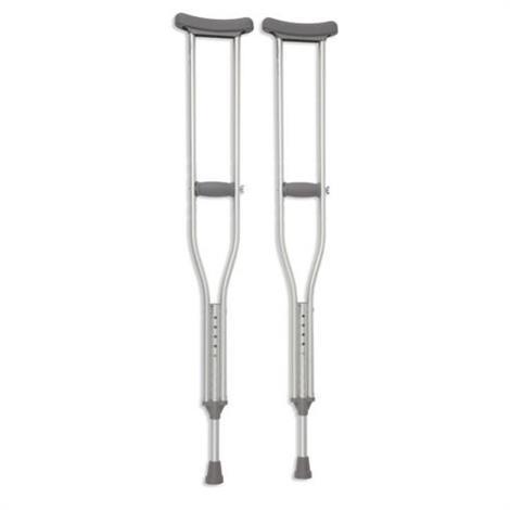 Cardinal Health Push Button Adjustable Axillary Crutch