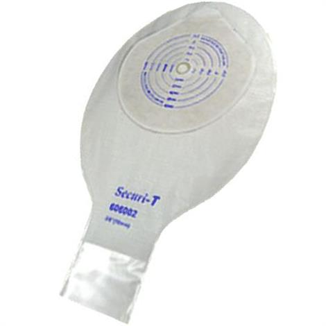 Buy Genairex Securi-T One-Piece Standard Wear Cut-to-Fit Transparent 9 Inches Drainable Pouch