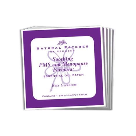 Natural Patches Of Vermont PMS And Menopause Formula Essential Oil Patch