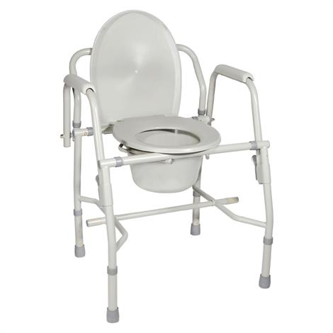 Drive Knock Down Deluxe Steel Drop Arm Tool Free Commode