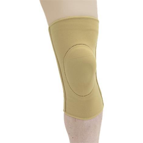Buy MAXAR Elastic Knee Brace With Donut-Shaped Silicone Ring and Metal Spiral Stays