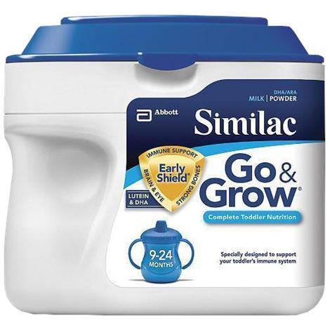 Abbott Similac Go And Grow Milk Based EarlyShield Toddler Powder Drink