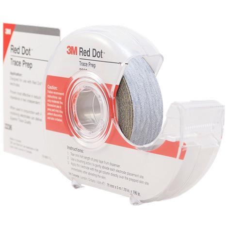 3M Red Dot Trace Prep Dispenser Roll