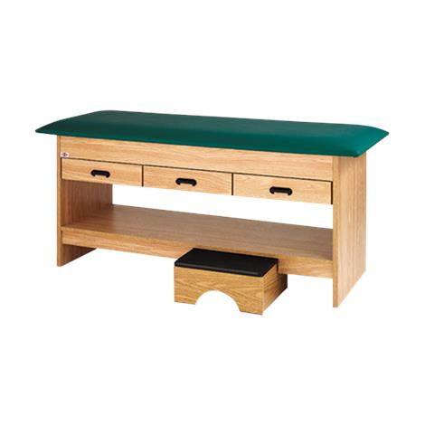 Hausmann Treatment Table With Pull-Out Foot Stool