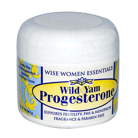 Wise Essential Wild Yam Progesterone Cream