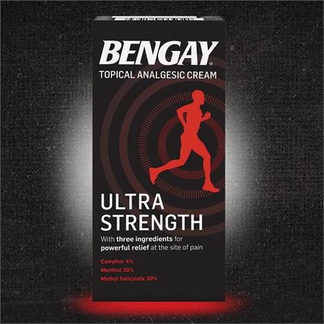 Buy Bengay Ultra Strength Non-Greasy Pain Relieving Cream