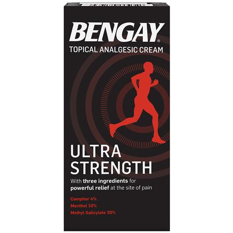 Buy Bengay Ultra Strength Topical Analgesic Pain Relieving Cream