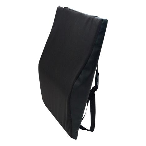 Bilt-Rite Black Wheelchair Back Cushion