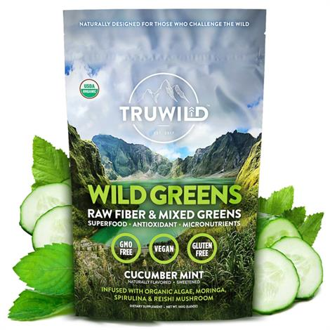Buy Truwild Wild Greens Drink Mix Powder