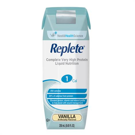Nestle Nutren Replete Complete Very High-Protein Liquid Nutrition
