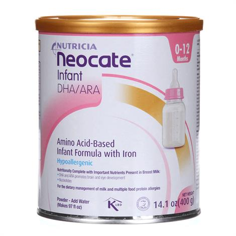 Nutricia Neocate Infant DHA and ARA Powder Nutrition