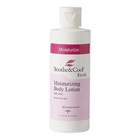 Medline Soothe And Cool Scented Moisturizing Body Lotion