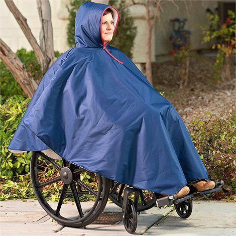 Buy CareActive Wheelchair Rain Poncho