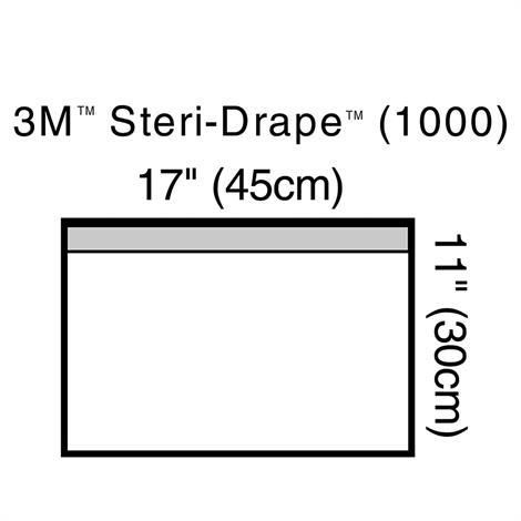 Buy 3M Steri-Drap Towel Drape With Adhesive Strip