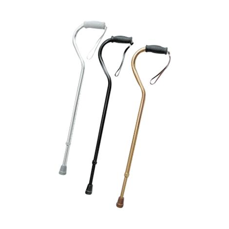 Invacare Offset Handle Cane With Strap