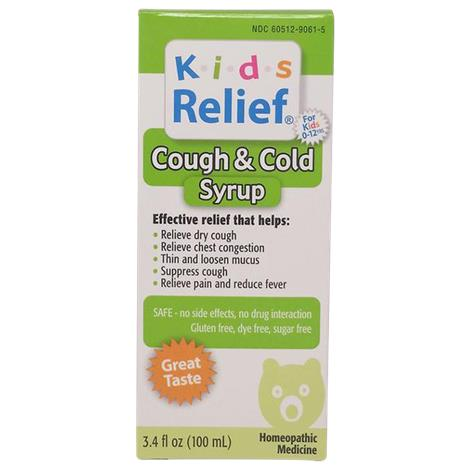 Homeolab Kids Cough And Cold Syrup