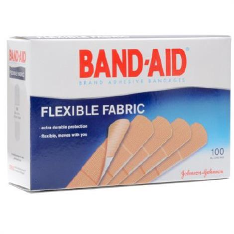 Buy Band-Aid Flexible Fabric Tan Adhesive Strip