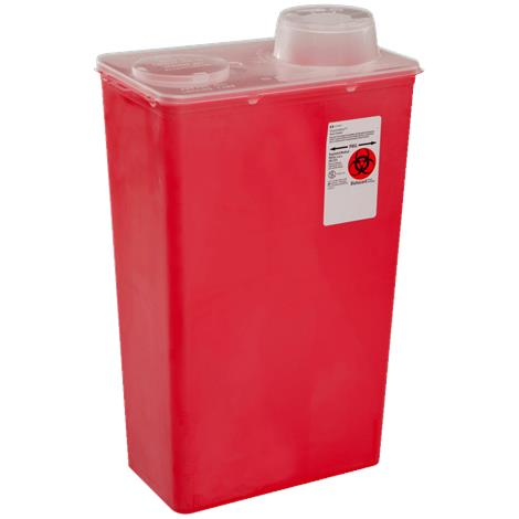 Covidien Kendall Monoject Sharps-A-Gator Chimney Top Sharps Container