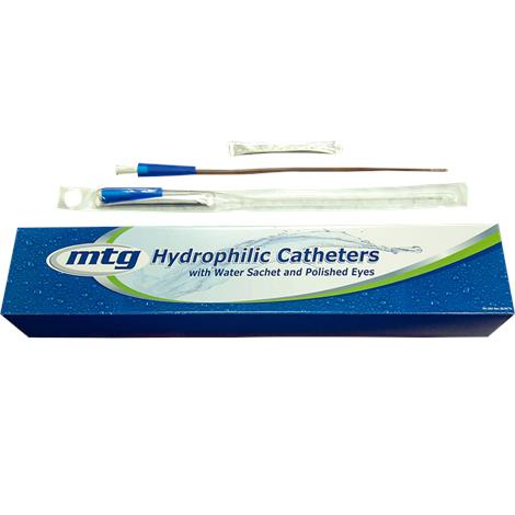 MTG Hydrophilic Straight Tip Male Intermittent Catheter