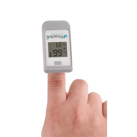 Proactive Finger Pulse Oximeter