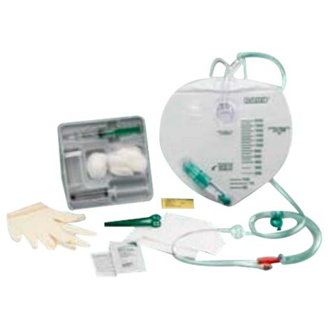 Bard All Silicone Foley Tray With 2000ml Drainage Bag and Anti-Reflux Chamber