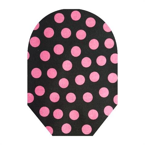 C&S Daily Wear Open End Pink Polka Dot Ostomy Pouch Cover