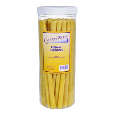 Cylinder Works Herbal Beeswax Candles