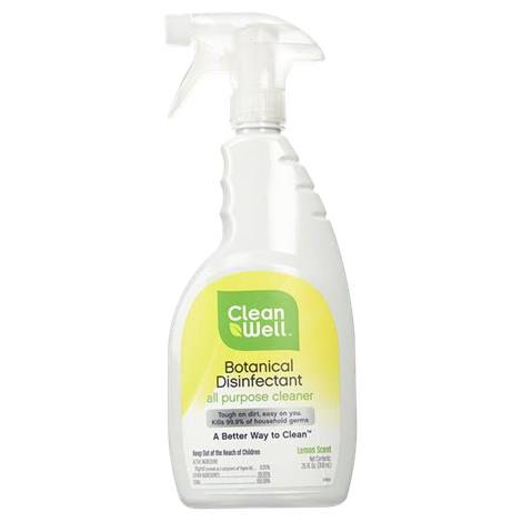Cleanwell botanical disinfectant all purpose cleaner disinfectants or cleaners for Cleanwell botanical disinfectant bathroom cleaner