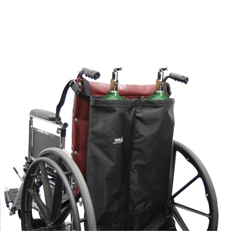 Skil-Care Oxygen Cylinder Holder For Wheelchair