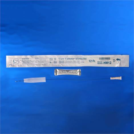Cure Male Hydrophilic Coated Intermittent Urinary Catheter