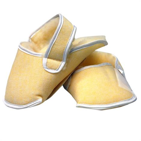 Skil-Care Synthetic Sheepskin Relief Slippers For Wheelchair