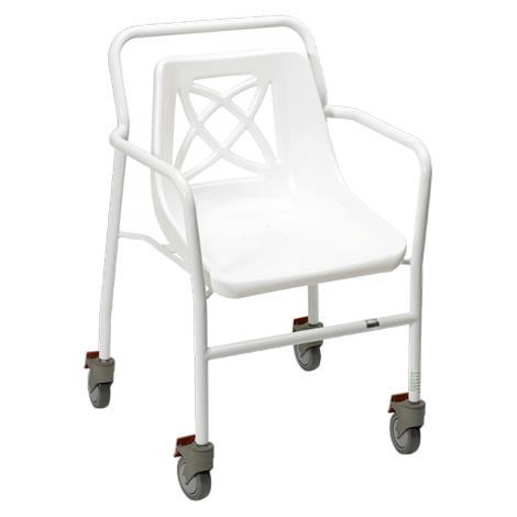Buy Homecraft Adjustable Wheeled Shower Chair